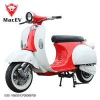 1200w 60V EEC China Classic VESPA vintage electric vespa scooter Retro Italy style e motorcycle with USB port
