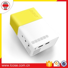 New design YG300 mini projector for mobile phone mini pocket projector LED projector proyector