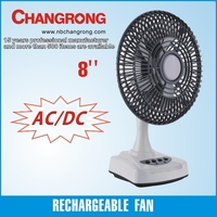 10 inch cheap desk fan rechargeable with 5 blades