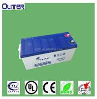 Long life cyclic used 12v150ah sealed storage battery