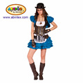 Clock Alice costume (16-021) as lady carnival costumes with ARTPRO brand