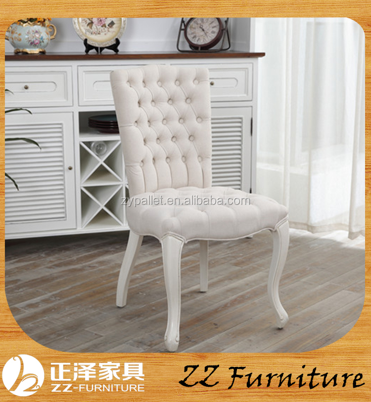 New design home furniture button chair for dining room