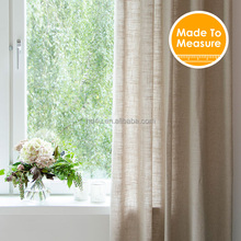 European Design Solid Color Daylight Curtains for living room bedroom Curtain window 8 colors avaliable