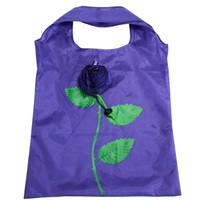Cheap foldable rose shopping bag production china supplier