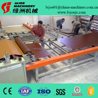 advanced technology lamination machine for PVC film