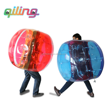 2017 Cheap crazy sport inside inflatable bumper ball bubble football game inflate ball suit for children and adults