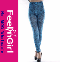 Notable Pretty Girl Cheap blue women latex rubber leggings