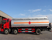 25000 liter capacity tanker oil diesel transport fuel tank truck for sale