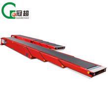 ISO9001 portable belt conveyor heavy duty personal telescopic transporter to load containers
