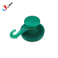 LMA Strong Colorful Plastic Neodymium Magnet Hook,Pot Magnet