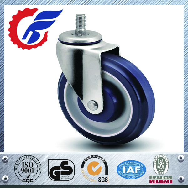 High quality shopping cart trolley conductive esd caster wheels