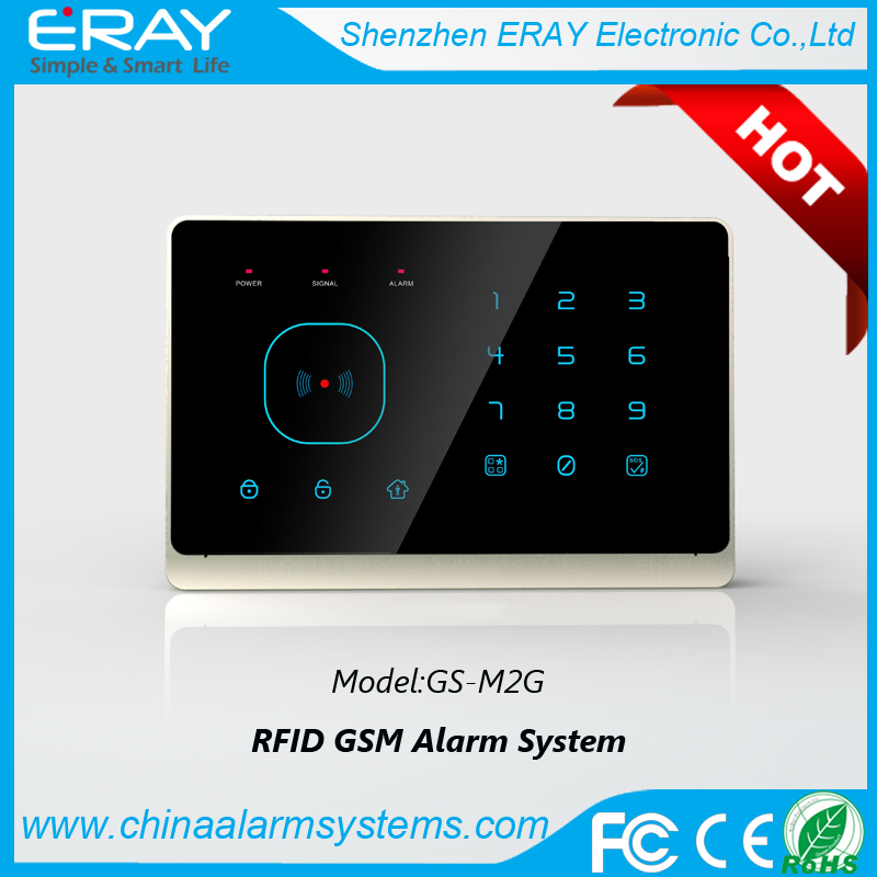 Rfid alarm gsm alarm system (M2G) anti-burglar home <strong>security</strong>