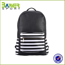 2017 hot sale girls leather backpack bag