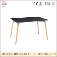 pictures of dining table show top luxury MDF dining table from China Bazhou