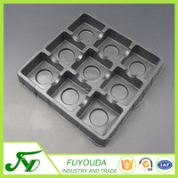 Hot sale food grade green environment plastic chocolate blister tray