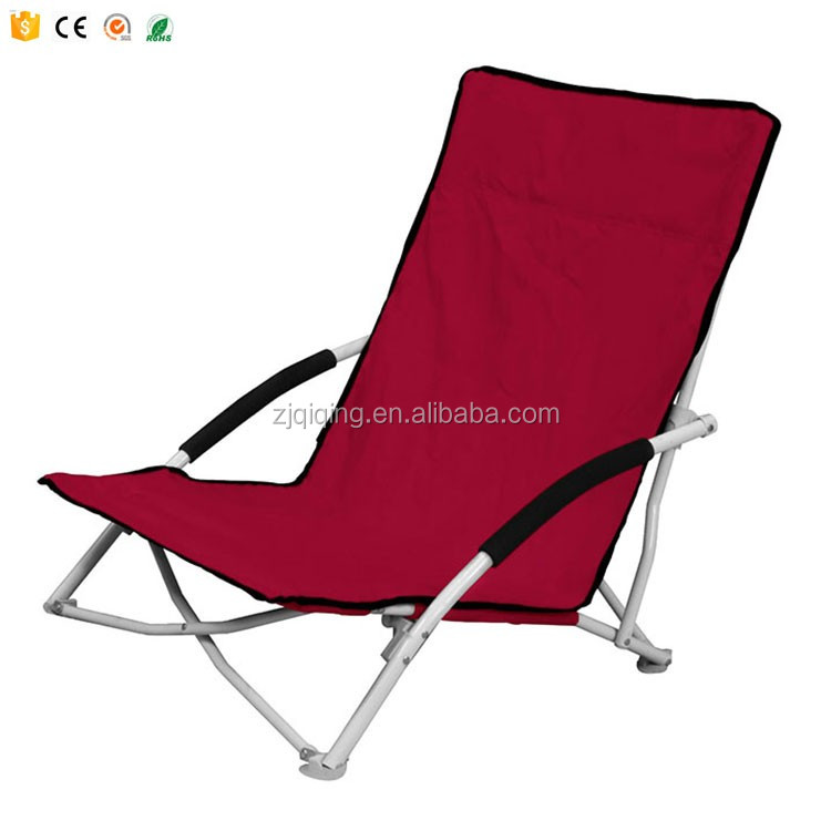Outdoor Low Beach Chair Folding Camping Garden Lounger Chairs On Sale HF-26-19