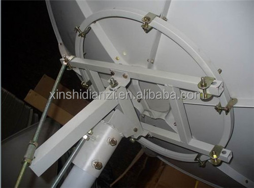 hebei renqiu good quality C band satellite dish 8ft (240cm) /C band solid dish antenna