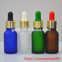 childproof cap glass dropper bottle for massage oil essential oil olive oil packing 30ml 10ml