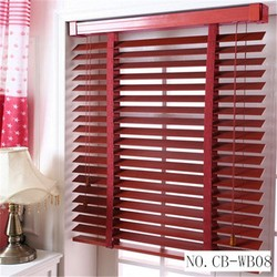 Best Price Office Wooden Mechanical Automatic Security Shutters One Way Window Blinds