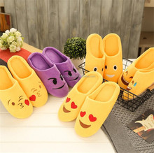 Hot sale Charming Style Indoor Bedroom Warm Plush latest ladies slippers shoes and sandals emoji unicorn shoese slippers