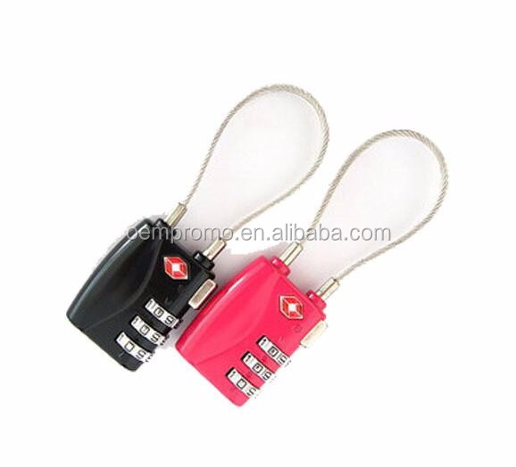 Wholesale Custom Logo Metal TSA Luggage Lock