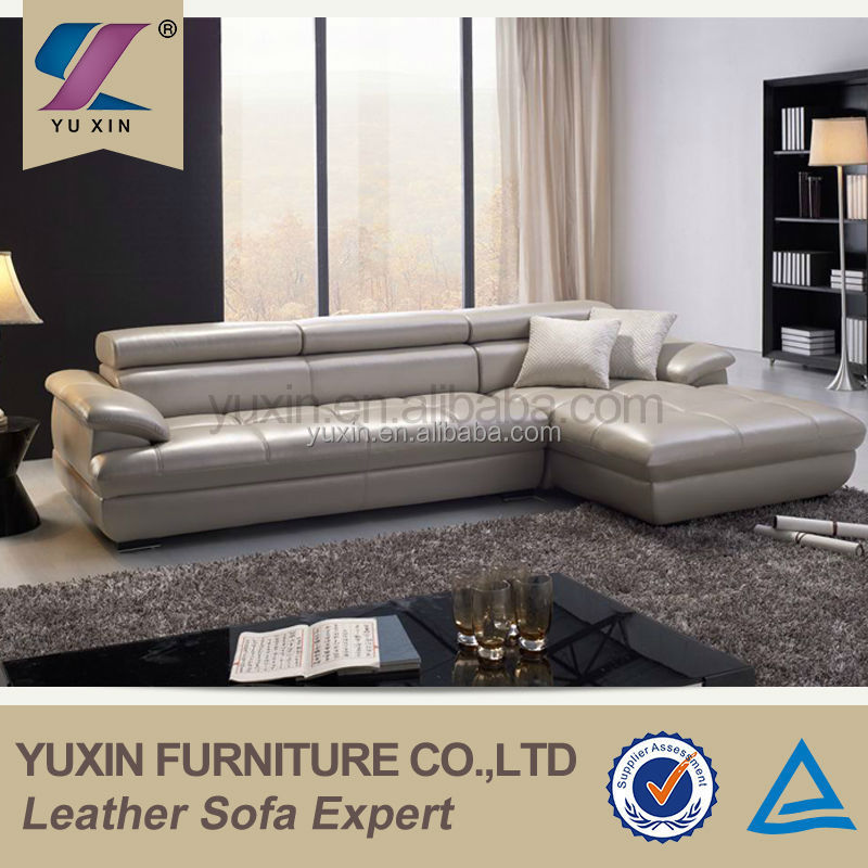 Leather upholstery furniture/modern leather sofa