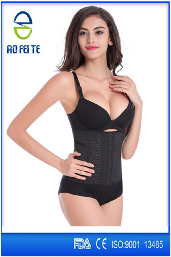 Aofeite Waist Training Corsets Female Body Shaper Vest Waist Trainer Steel Boned Corset busk for men Slimming Belt Latex Waist