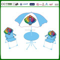4pcs steel frame baby folding beach chair ,folding table and chair set