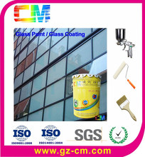 Glass paint- uv proofing flat glass anti scratch coating