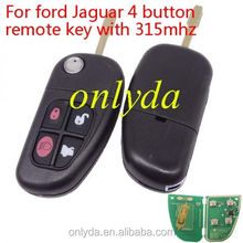 ford Jaguar 4 button remote key with 315mhz