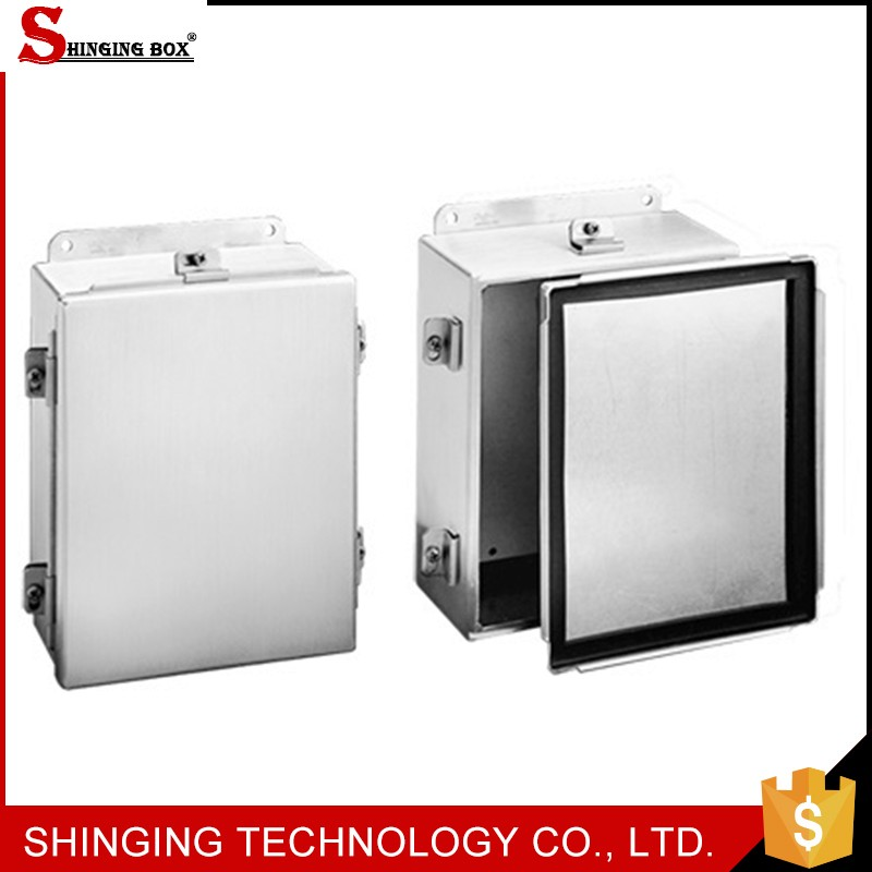 High quality popular free standing glass shower extruded aluminium amplifier enclosure