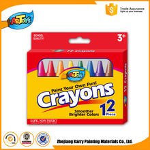 Good Reputation Kids Art 12Colours wax types of crayons
