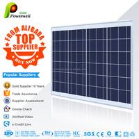 50w Poly solar panel with CEC/IEC/TUV/ISO/INMETR certificates China manufacturer