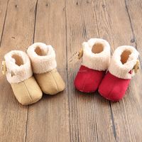 Winter explosion models baby warm cotton non-slip baby shoes Snow boots