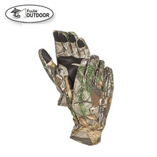 Camouflage Hunting Gloves Light to Mid-weight Smart Phone Compatible With Sure Grip Palms Archery Accessories Hunting Outdoors