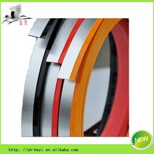 various color and size plastic edging for sheet metal