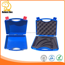 Heavy Duty plastic tool case box with customized foam and logo printing 330*272*82mm
