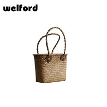 Coutry style synthetic rattan woven crafts for decoration