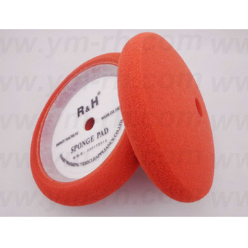 "9"" arc face car polishing foam pad"