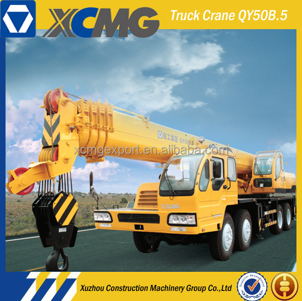XCMG QY50B.5 50ton pickup truck with crane