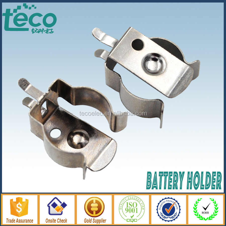 TBH-Clip-AAA01 Ningbo TECO AAA DIP Battery Clip for AAA,N,12V Battery