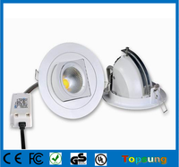 12 watt 5 inch gimbal kitchen led recessed lighting for home