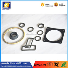 flat gasket of different rubber materials wholesale custom round molded washer carbon rubber gasket