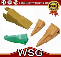 WSG Excavator tiger teeth & adapter 62NBTL31320 66MB-31310