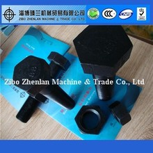China Supplied Grade 8.8 Hex Bolts M56, M52, M48, M45, M42, M39, M36