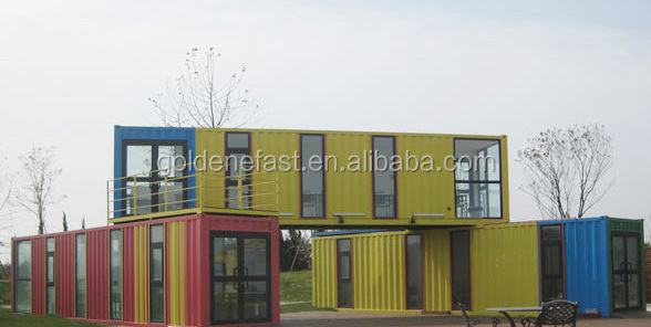 fast install self contained container house