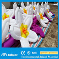 Wedding party inflatable flowers