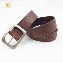 Vintage Hollow Cow Leather Belt For Man And Women