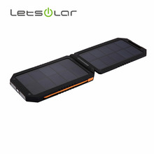 high capacity polymer li-ion battery portable solar charger for blackberry