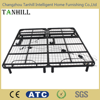 queen size adjustable metal wired bed frame